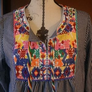 Awesome embroidered top